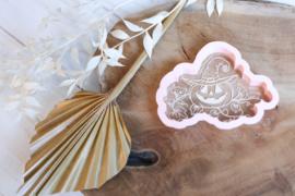 Pompoen met hoed # + cutter 2 delig - oh my cookie