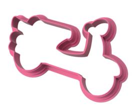 Vespa cookie cutter & PYO stencil