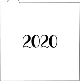 2020 cookie stencil