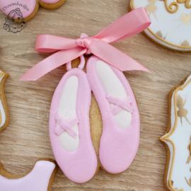 Ballet schoentjes cookie cutter