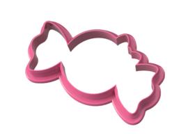 Snoepje - Spin met strik  cookie cutter
