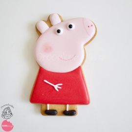 Pig staand cookie cutter