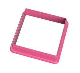 vierkant  5 cm cookie cutter - koekdesign