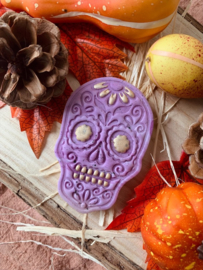 Skull stempel & cookie cutter - 2 delig
