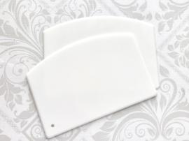 Plastic Dough Scraper / Icing Spreaders