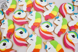 Unicorn pastel cutter & stencil