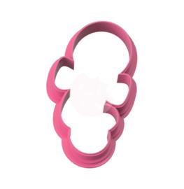 balloon met strik  cookie cutter
