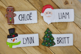 Tags- label 4 designs cookie cutters