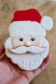 3D kerstman cookie cutter