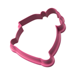 Kado zak met tag cookie cutter