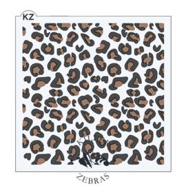 Leopard Print 2 part layer