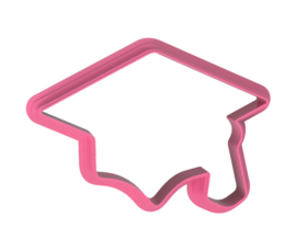 afstudeer cap cookie cutter
