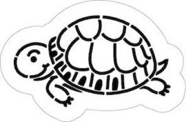 Schildpad cookie cutter & stencil