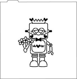 Valentijn robot # PYO stencil