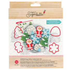 Sweet sugarbelle COOKIE CUTTER SET - WINTER - (14 PIECE)