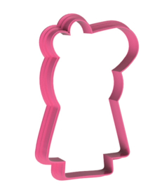 Pig staand cookie cutter