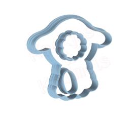 3D schaapje cookie cutter