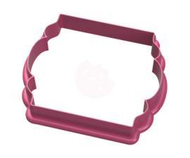 Plaque vernis cookie cutter