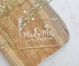 Trouwen - Mr & Mrs