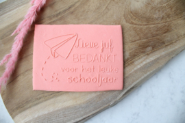 School -  Bedankt lieve juf voor het leuke schooljaar