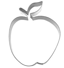 Appel met blad groot koek-it