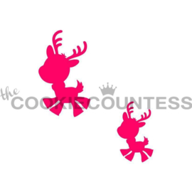 Playful Reindeers 2 sizes