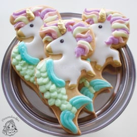 Mernicorn cookie cutter