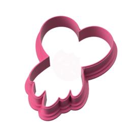 Dreamcatcher hart cookie cutter