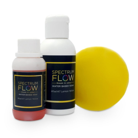 SPECTRUM FLOW – WATER BASED AIRBRUSH COLOUR – 100 ml Lemon yellow