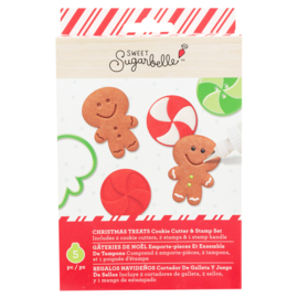 Sweet sugarbelle -  CHRISTMAS - TREATS (5 PIECE)
