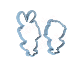 bunny kuikens cookie cutters & PYO stencil