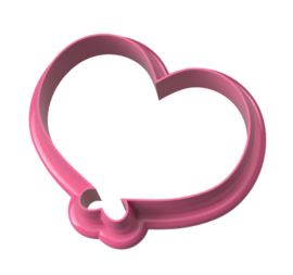 Ballon  hart  cookie cutter