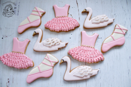 Ballet voet  cookie cutter