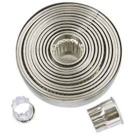 Cirkels gekarteld 14 serie koek-it