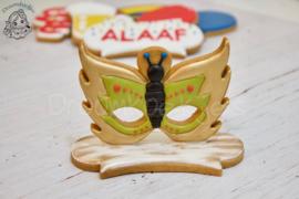Vlinder masker cookie cutter