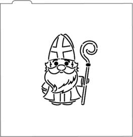 Sinterklaas PYO stencil