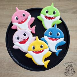 Kinder haai cookie cutter