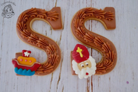Letter SINT cookie cutter