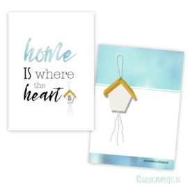 Home is where the heart is  kaartjes