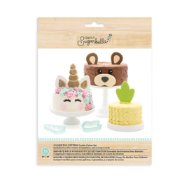 CAKE TOPPERS SET - 6 PIECES