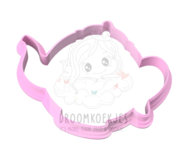 Theepot - 9 cm cookie cutter