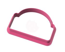 Plaque X cookie cutter