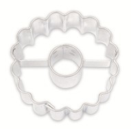 Cirkel gekarteld met cirkel koek-it