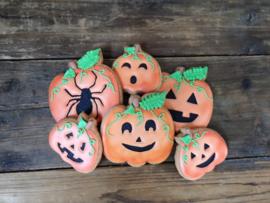 Pompoen halloween set cookie cutter