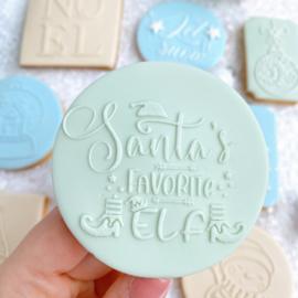 Kerst-  Santa's favorite elf