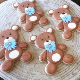 Teddy beer cookie cutter