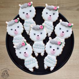 Lama staand cookie cutter