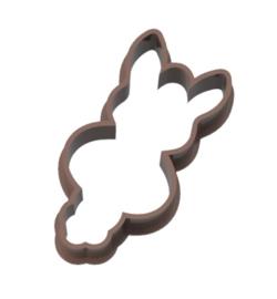 Geluks popje 4 paashaasje cookie cutter & kaartje(S)