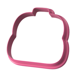 Boekentas  cookie cutter