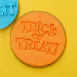 TRICK OR TREAT - COOKIE/CUPCAKE EMBOSSER